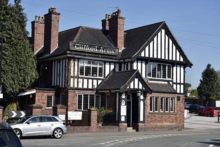 Clifford Arms - Great Haywood - Staffordshire
